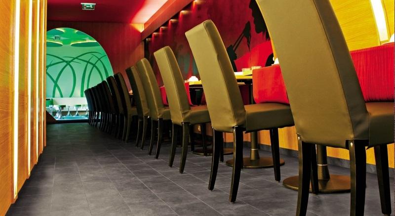 33 класс ламината в ресторане