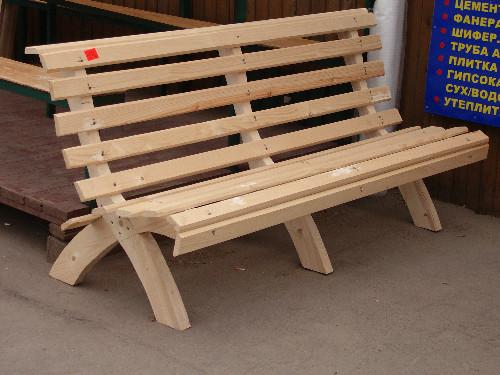 Парковая скамейка своими руками