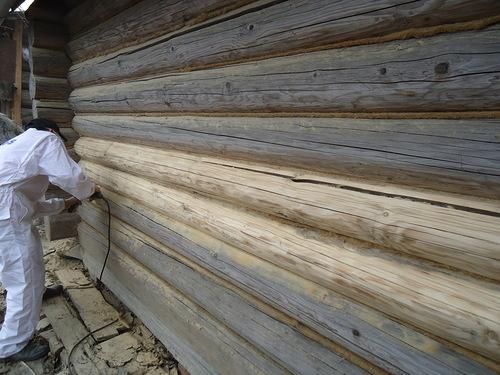 Бактерицидная пропитка стен старого дома