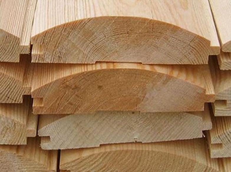 Блок-хаус - фальш брус, изготовленный из натуральной древесины
