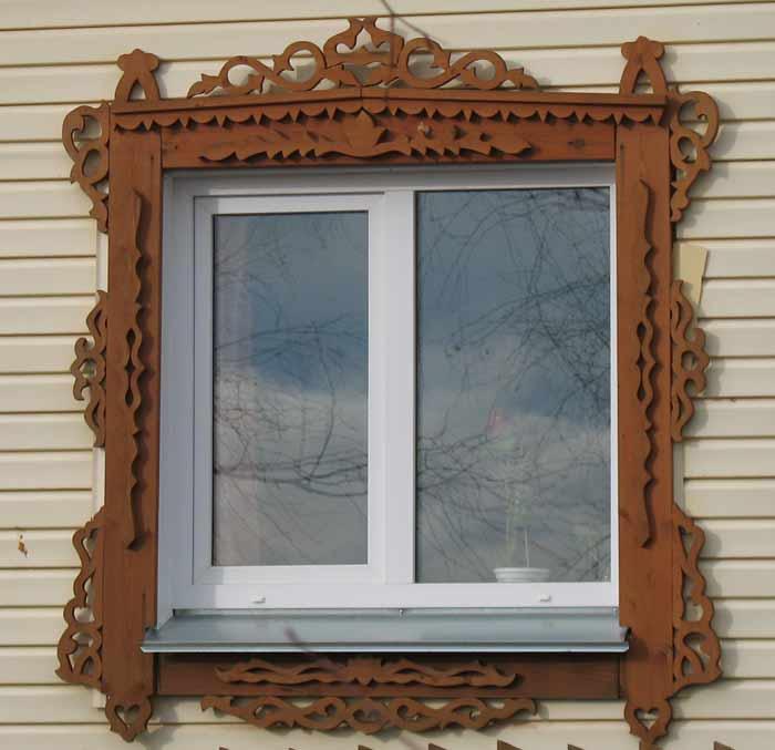 Резные наличники на окна своими руками фото