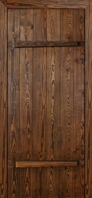 Браширование выделяет древесный узор
