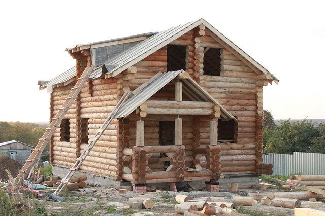 Бревенчатый дом 9х9