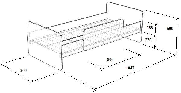 Кровать своими руками чертежи и размеры схемы и проекты эскизы односпальная 10
