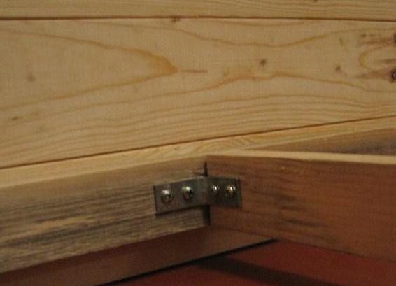 Даже небольшие уголки значительно увеличивают жесткость конструкции