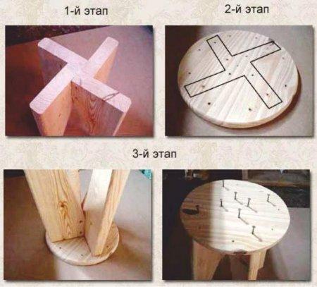 Как сделать табуреты своими руками