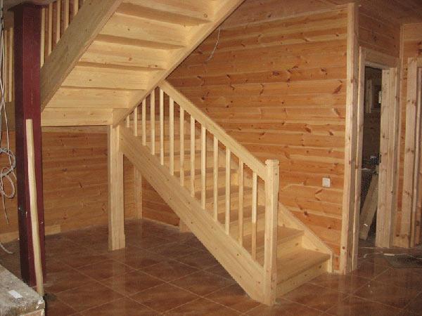 Лестницу на 2 этаж своими руками фото