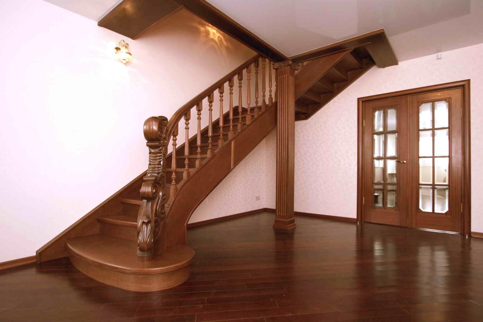 Картинки по запросу Деревянные лестницы в доме