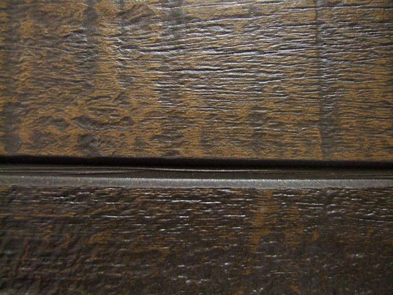 Деревянная текстура на фиброцементной панели