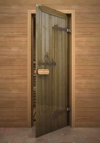 Деревянные двери для бани и сауны – отличное решение.