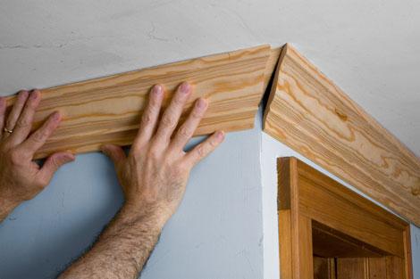 Плинтуса деревянные своими руками