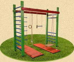 Детская площадка для занятий спортом