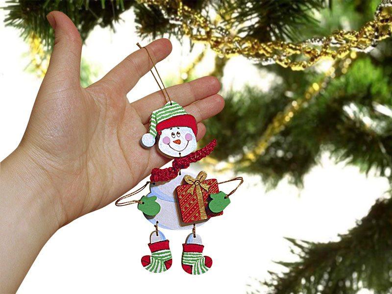 Новогодние игрушки зделаны своими руками