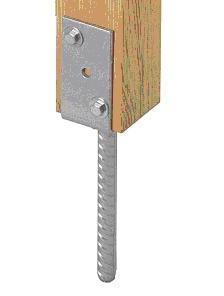 Для крепления в бетоне используются специальные анкерные опоры
