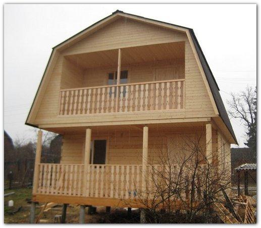Дом из профилированного бруса 6х6 – идеальное решение для загородного участка