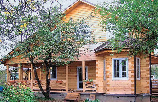 Проекты простых домов с мансардой фото 71