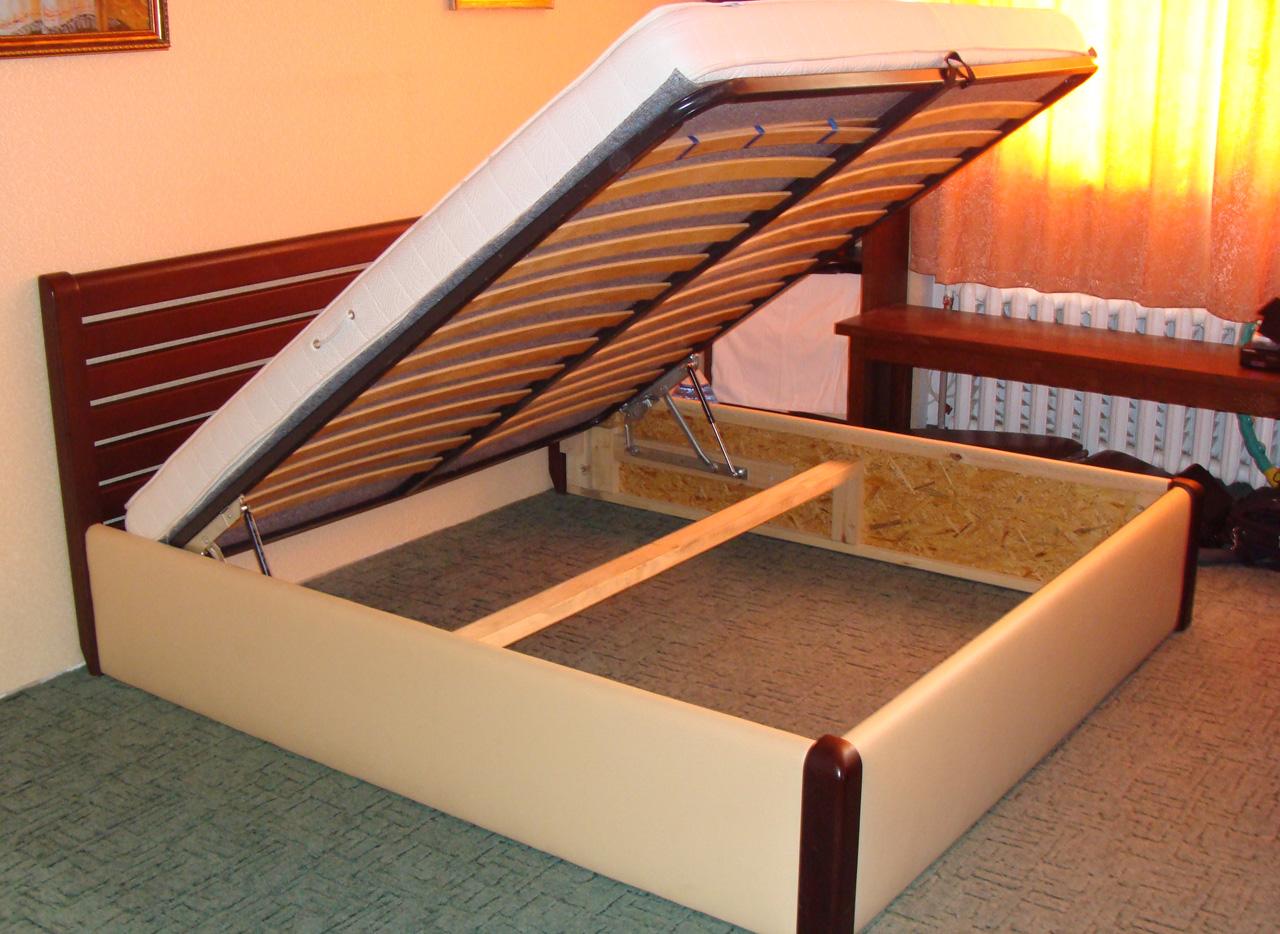 Кровать из каркаса своими руками