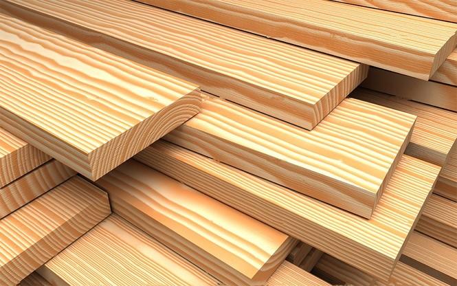 Древесина используется преимущественно в виде доски.