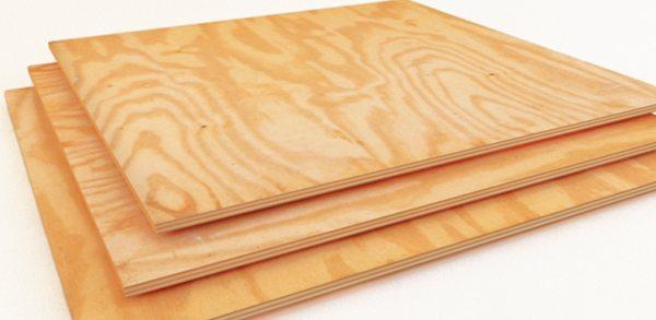 Древесно-слоистая плита привлекательно выглядит даже без дополнительной декоративной обработки