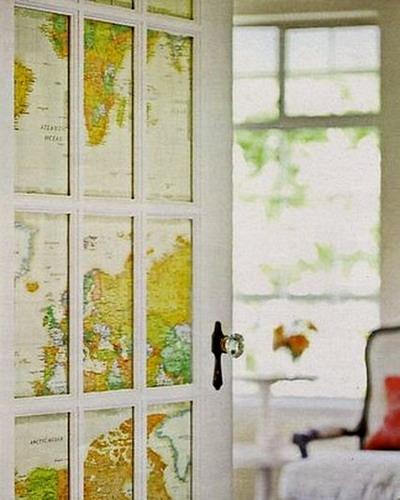 Дверь-карта