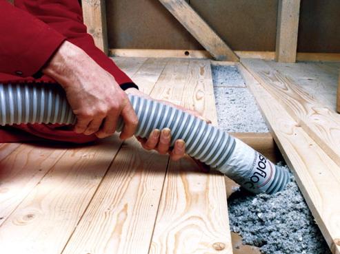 Эковата – современный экологически чистый теплоизолятор.