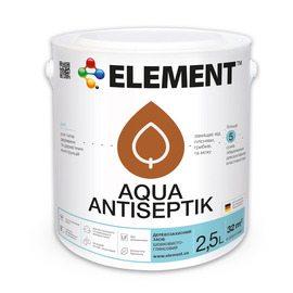 Элемент аква - краска для дерева с антисептическими компонентами