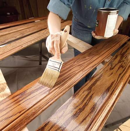 Если есть возможность покрасить каждый элемент какого-либо изделия – делайте именно так, это облегчит рабочий процесс