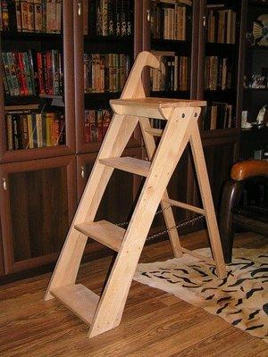 Эта лестница имеет больше возможностей, чем стул