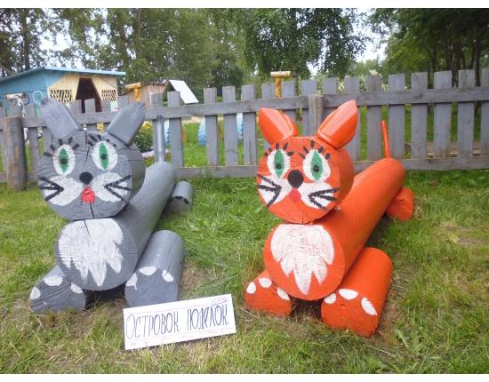 Эти «скульптуры» будут интересны, прежде всего, детям.