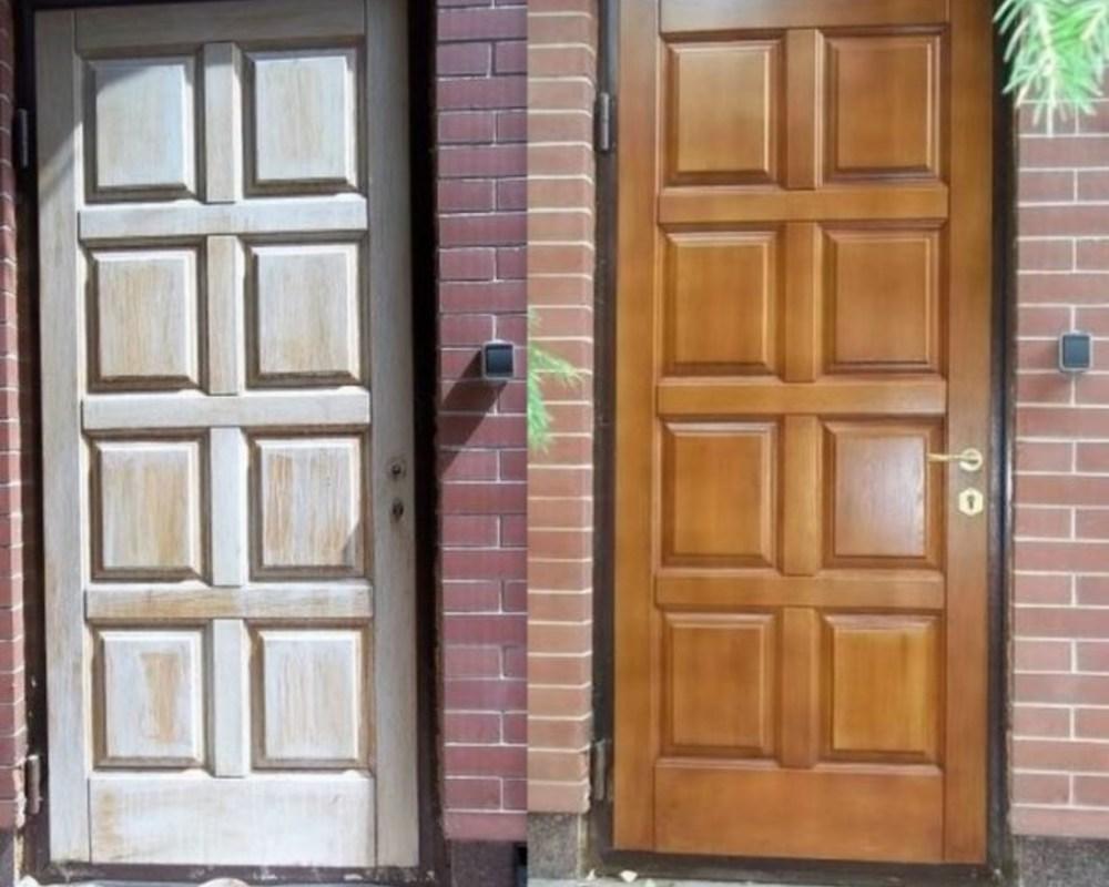 Реставрация межкомнатных дверей своими руками фото