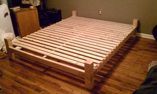 Как сделать кровать 2-х спальную своими руками