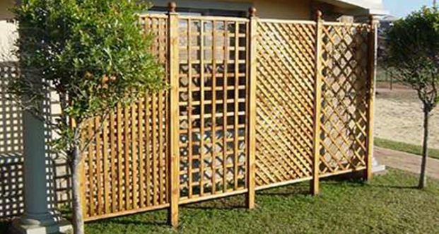 Фото декоративных деревянных решеток