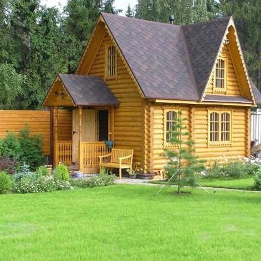 Фото деревянной дачи