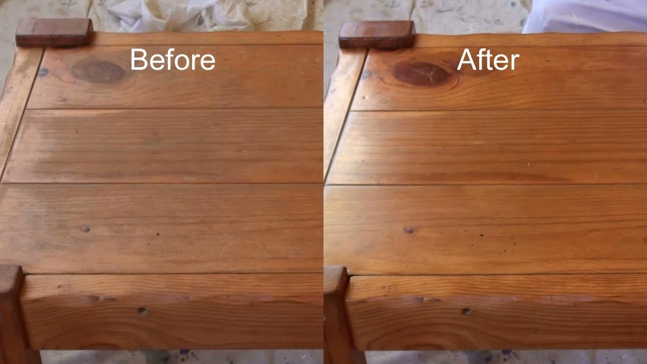 Фото до и после обработки составом