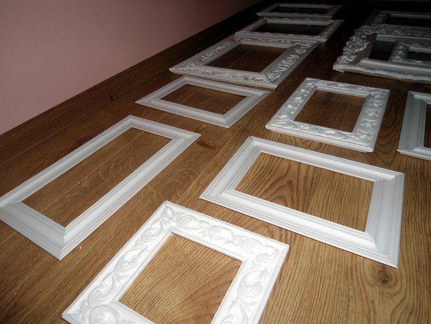 Изготовление рамок для зеркал своими руками фото 235