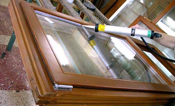 Герметизация стекол