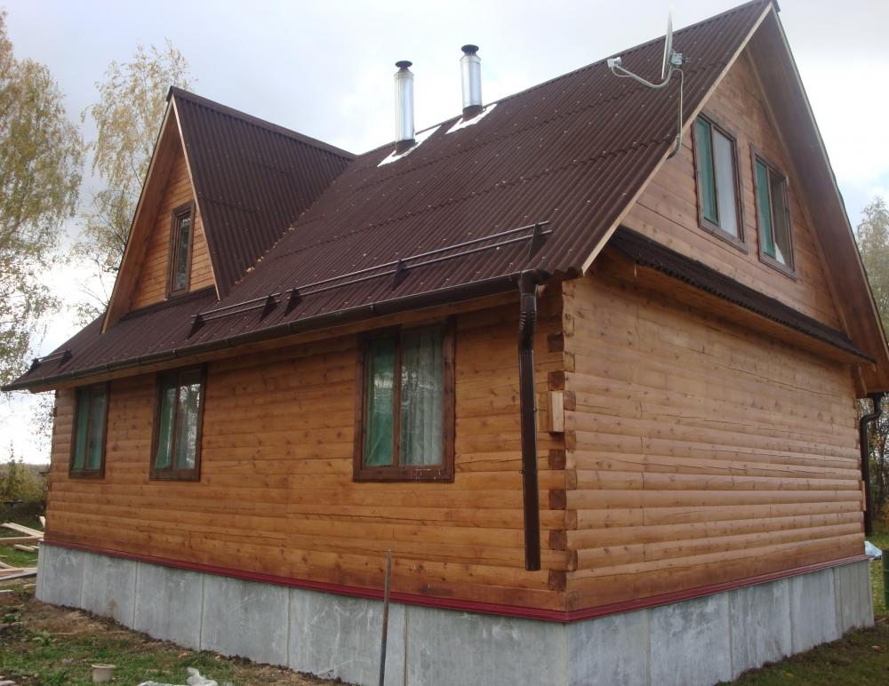 Двухэтажный дом фото план