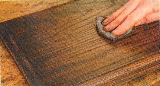 Как состарить деревянный пол своими руками