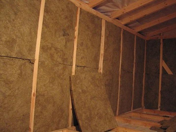 Использование минеральной ваты внутри помещения