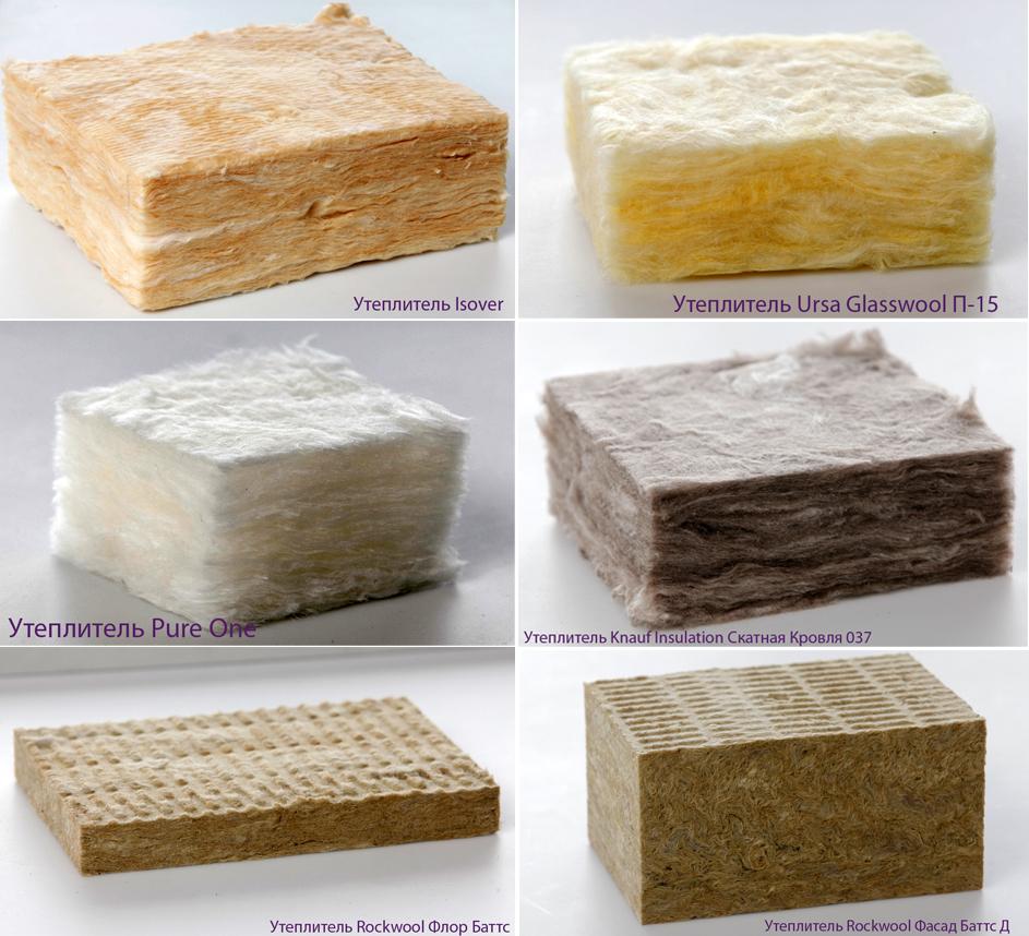 Изделия на основе минерального волокна: специализированные и универсальные