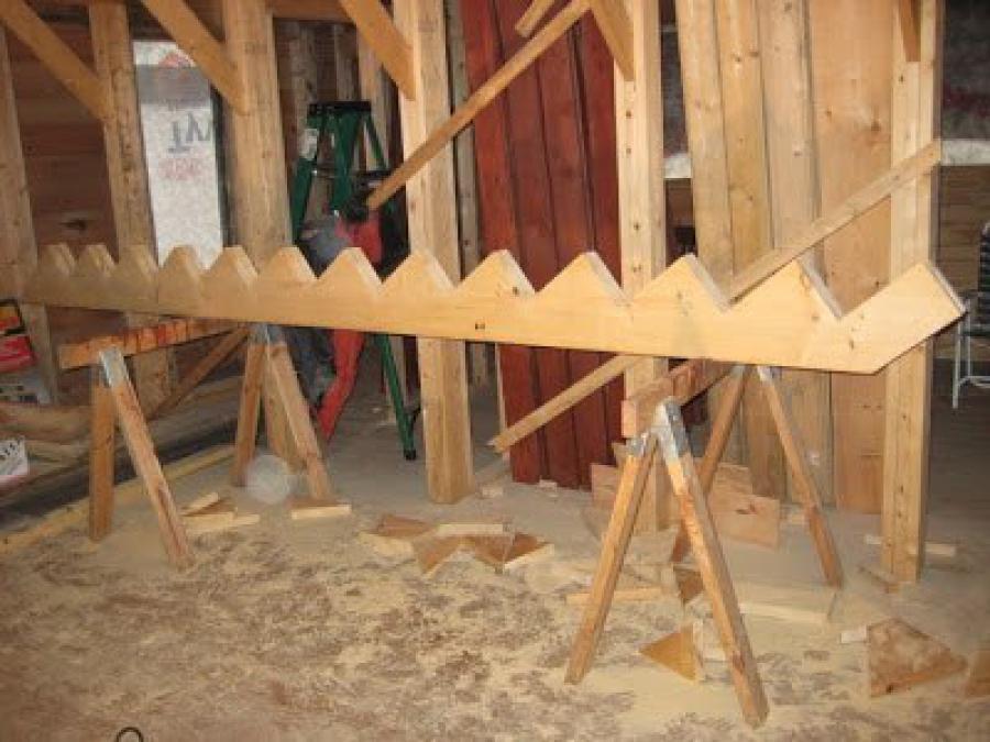 Пошаговое изготовление лестницы своими руками