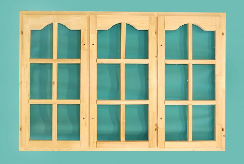 Изготовленные на заказ террасные деревянные окна