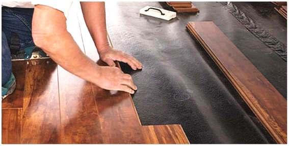 Качественная укладка ламината на деревянный пол своими руками