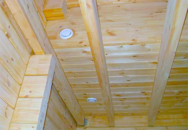 Как сделать в деревянном доме вентиляцию