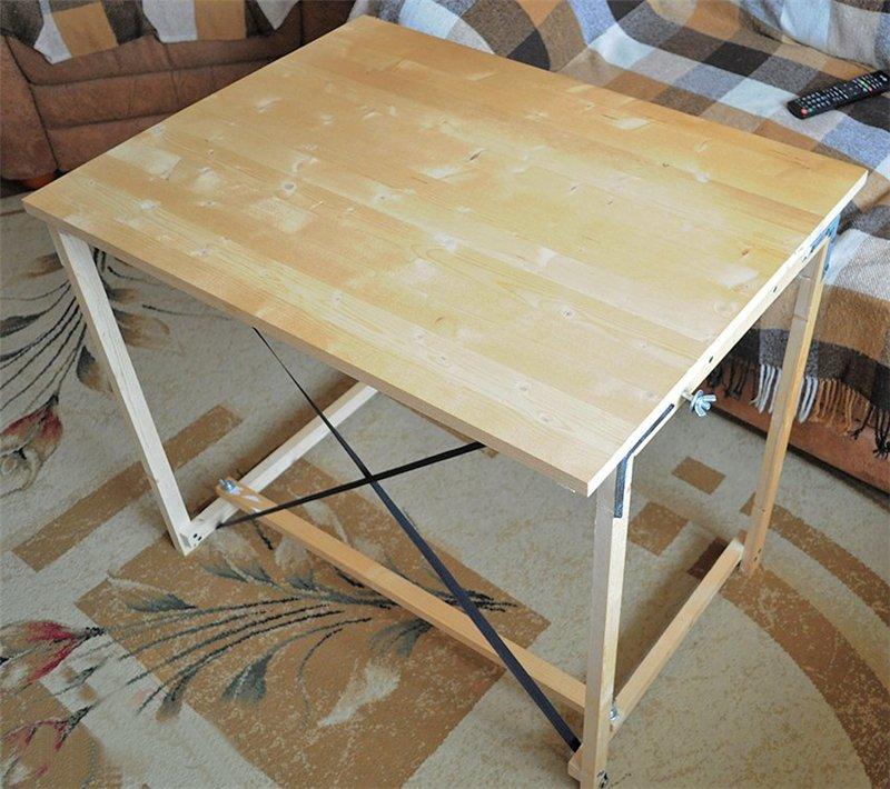 Складные столы своими руками фото