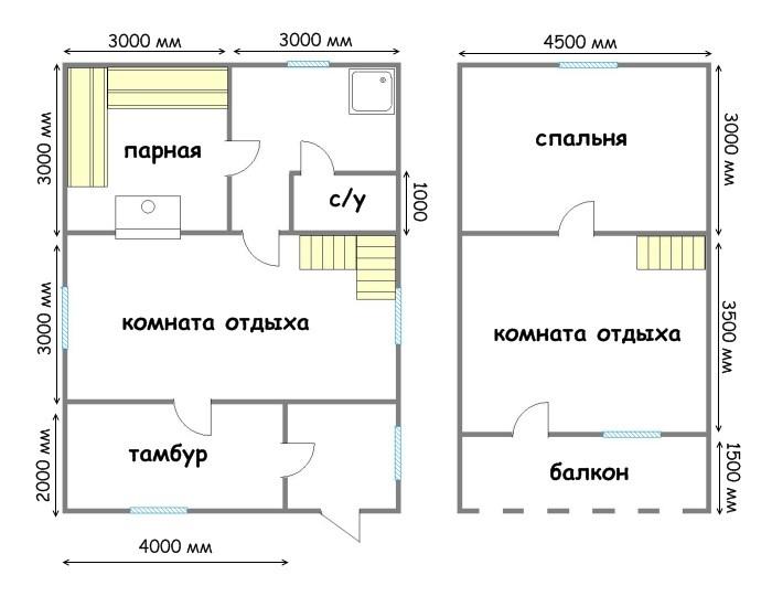Как изготовить дом из бруса 9 на 9 на 6 на 9 с мансардой