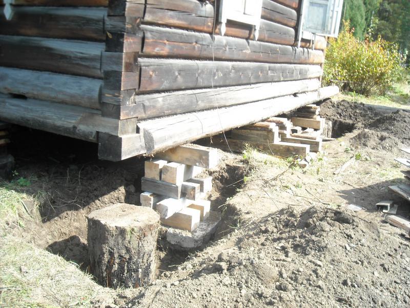 Фундамент под деревянную баню своими руками