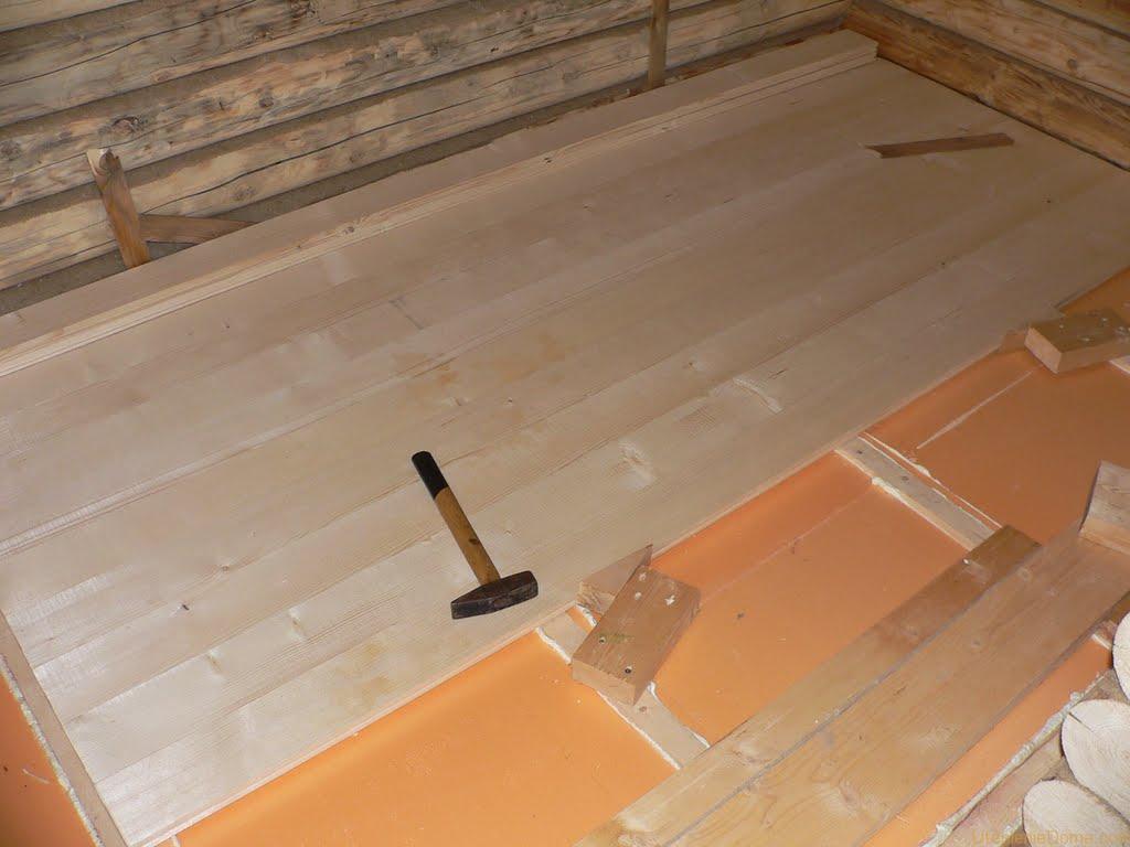 Как утеплить пол в старом деревянном доме пенополистиролом