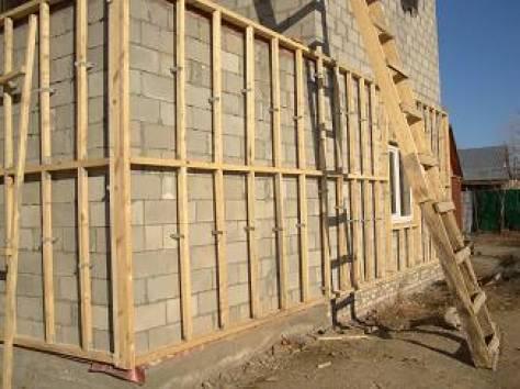 Каркас для вентилируемого фасада