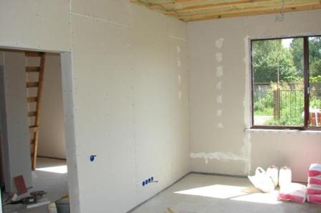 Внутренняя отделка деревянного дома своими руками гипсокартоном